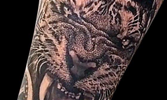 Making of Tiger Tattoo