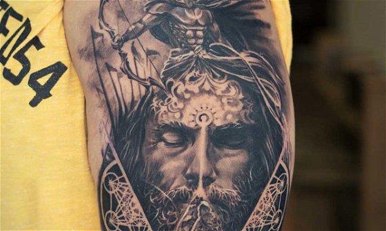 Lord Arjuna Tattoo Tutorial