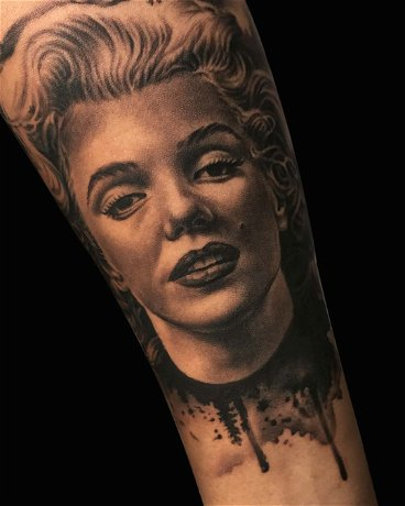 Realistic Portrait of Marilyn Monroe - Advanced Course