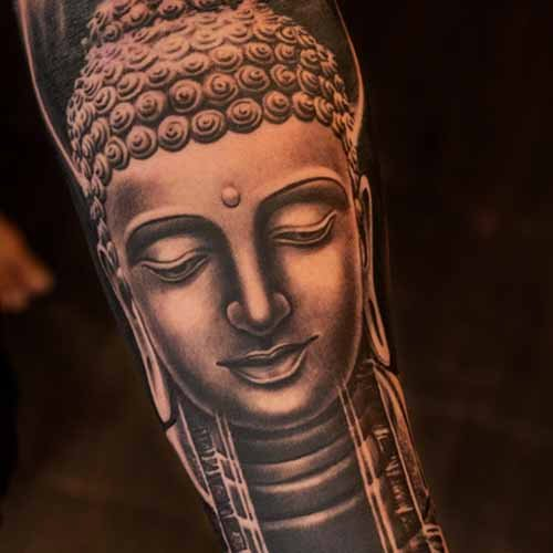 Advance B&G Buddha Sculpture Tattoo with Sunny Bhanushali