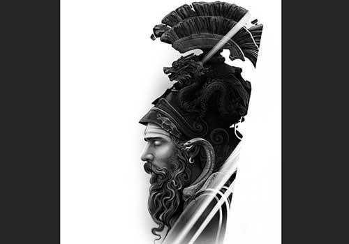 Shiva Warrior Design