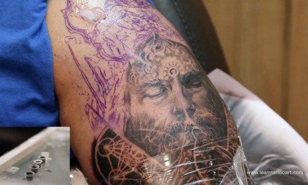 Lord Arjuna Tattoo Part 8