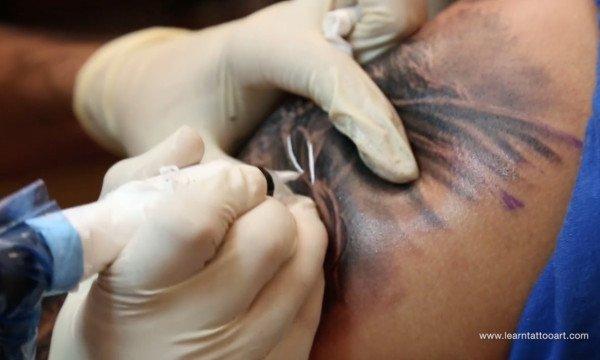 Lord Arjuna Tattoo Part 10