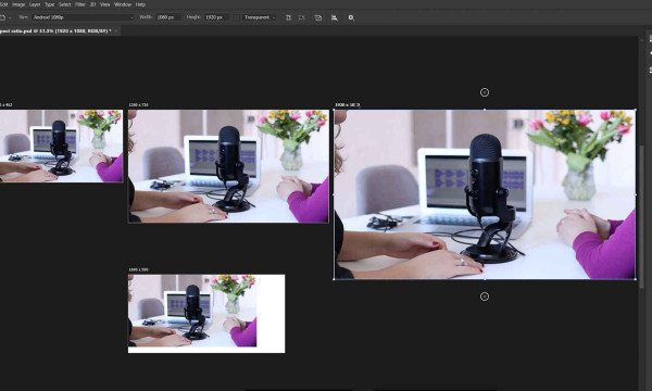 Photoshop Project Settings and aspect Ratio