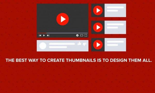 Designing YouTube Thumbnails