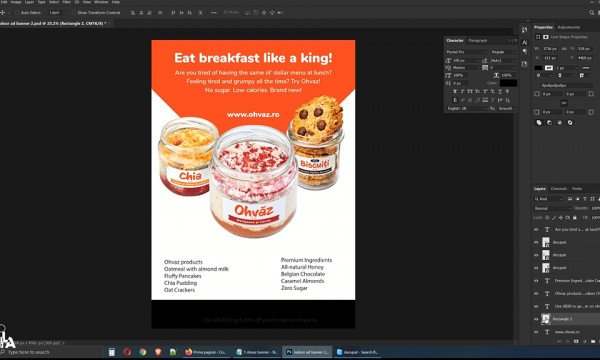 Indoor Ad Banner - Styling I