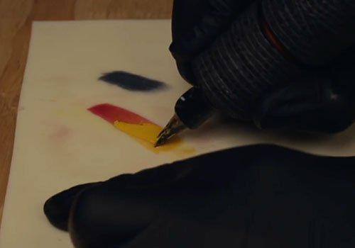 Tattoo Techniques: Paintbrush