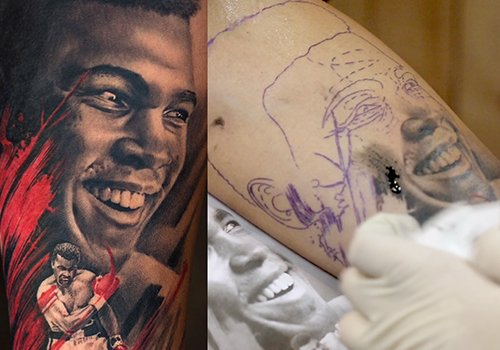 How To Tattoo Nose & Cheeks