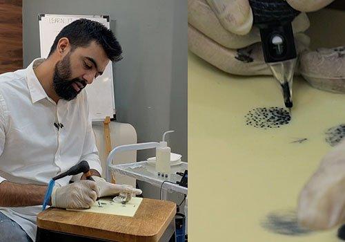 Tattoo Techniques: Dots